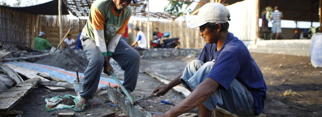 Houtstrips-balie-indonesie