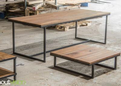 Houtvision-sloophout-maatwerk-meubelen-op-maat-industrieel-eettafel-salontafel-hout-stalen-onderstel-meerpalen-hardhout-luxe-basralocus-4
