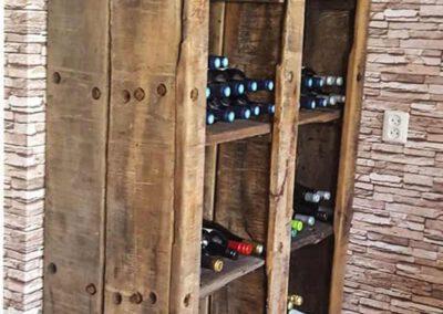 Houtvision-sloophout-maatwerk-wijnrek-wijnkast-kast-wagonplanken-douwe-egberts-oud-hout