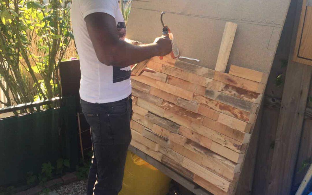 Doe-het-zelf houtstrips