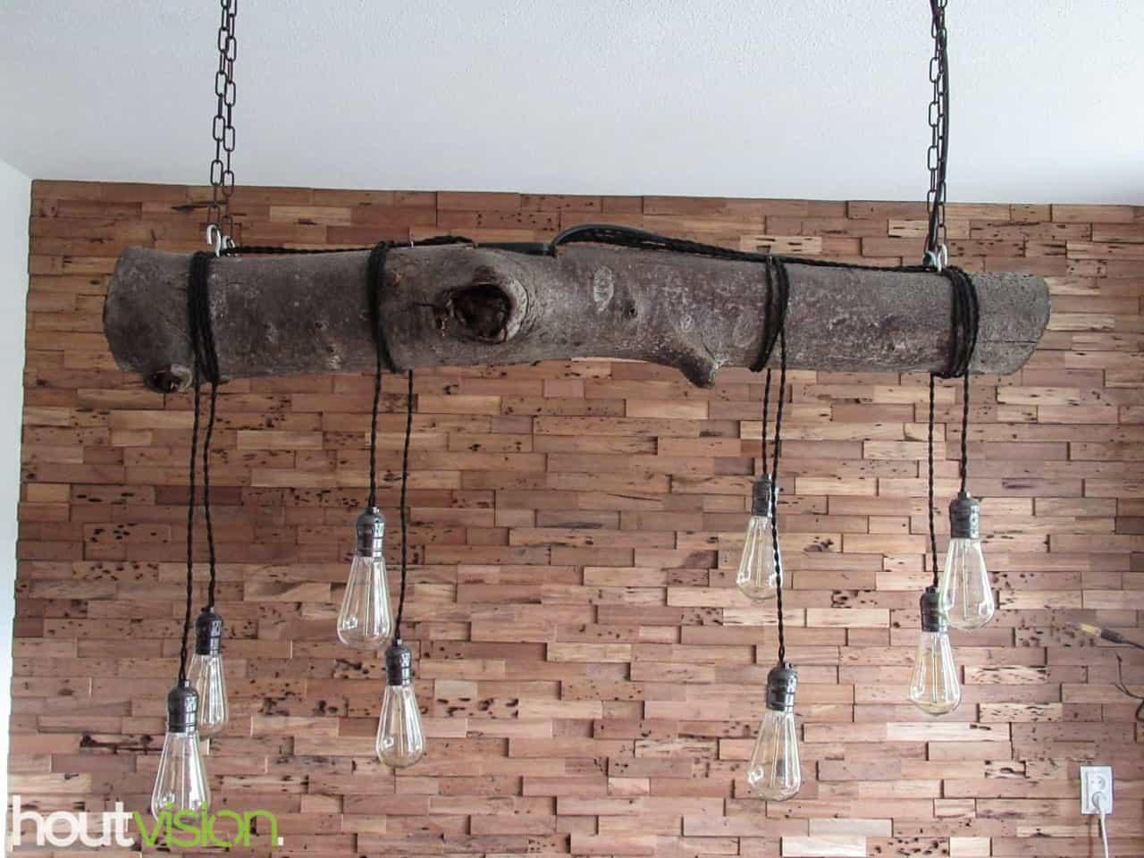 Boomstam hanglamp