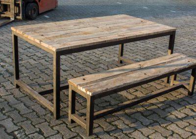 houtvision-sloophout-industrieel-bankje-tafel-staal-oud-hout