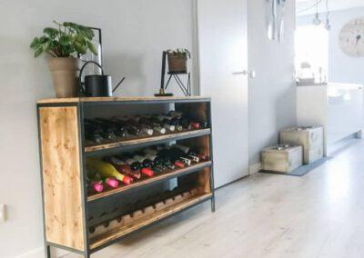 houtvision-sloophout-maatwerk-kast-wijnrek-wijnkast-meubel-wijnflessen-kaasplanken-oude-2