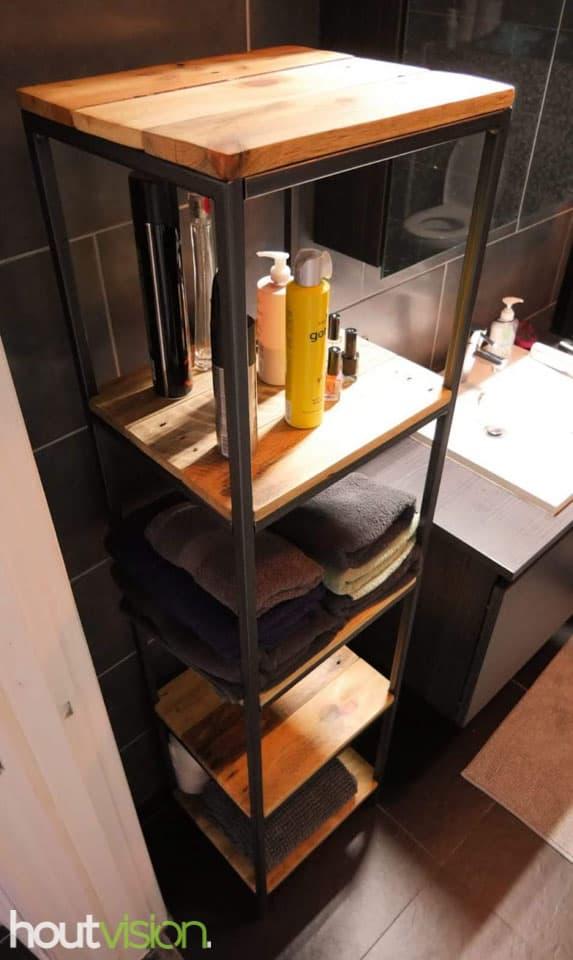 Badkamerkast Sloophout Houtvision