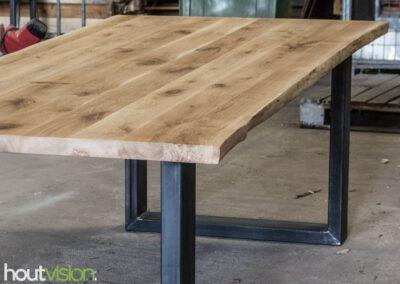 houtvision-sloophout-meubelen-op-maat-tafels-eettafel-boomstamblad-boomstamtafel-boomstam-eiken-scandinavisch-stalen-staal-onderstel-tafelpoot-u-frame-8-1