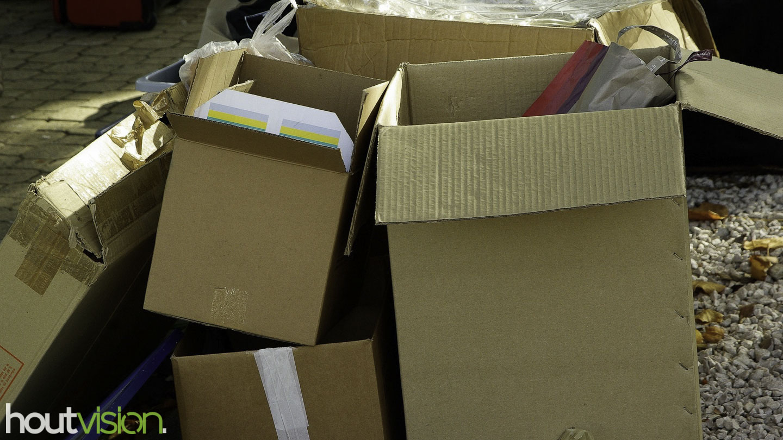 hergebruik verpakkingsmateriaal