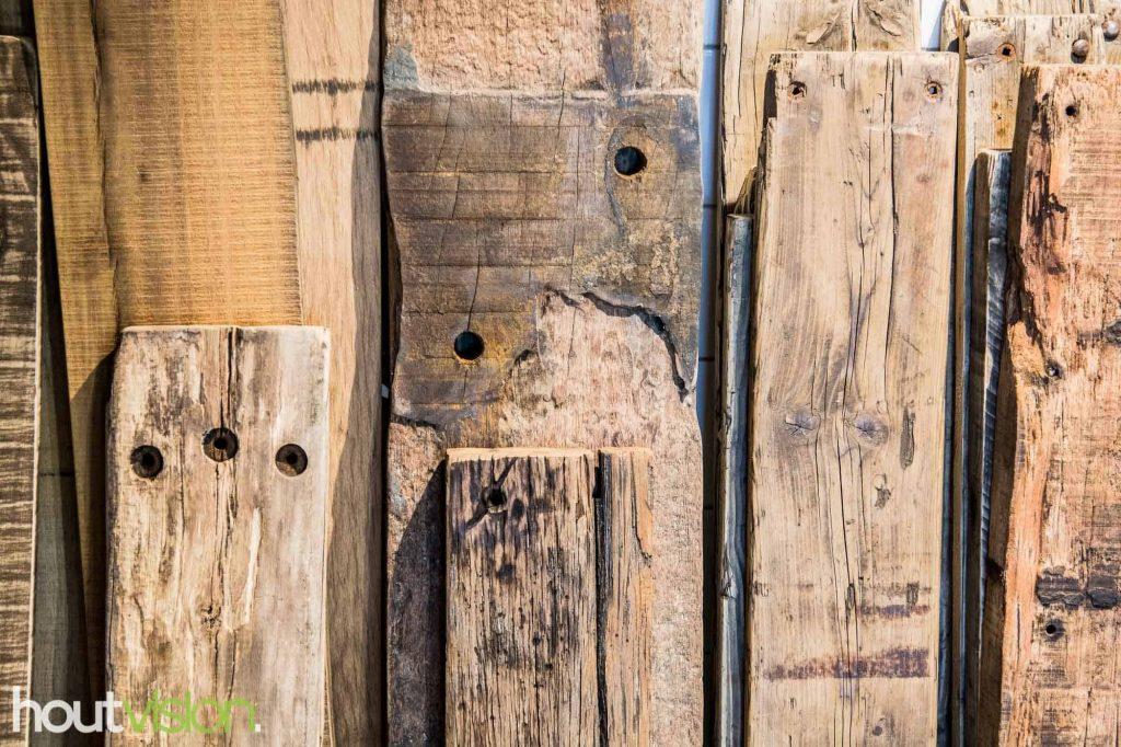 sloophout losse planken