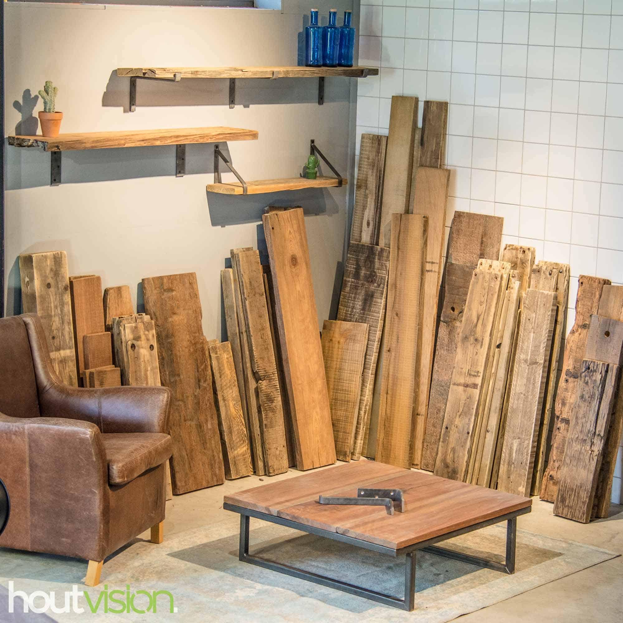 wandplanken van houtvision