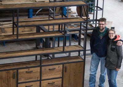 Houtvision-maatwerk-sloophout-industriële-meubelen-op-maat-gebruikt-hout-staal-kast-wandmeubel-wandkast-deelbaar-plato-vakken-deuren-laden-jeff-blauwstaal (4)