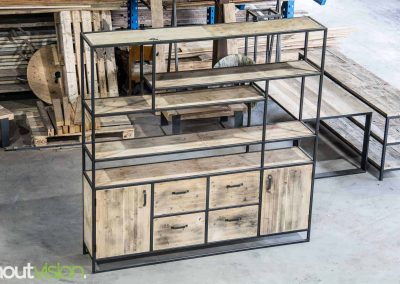 Houtvision-sloophout-maatwerk-industriële-meubelen-op-maat-gebruikt-oud-hout-staal-kaasplanken-stalen-frame-jeff-kast-xl-1