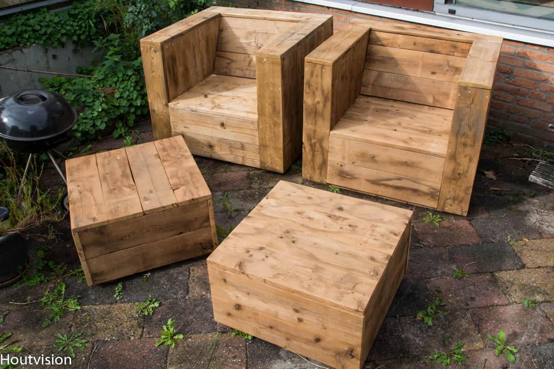 Of ga de tuin in met PLATO hout..